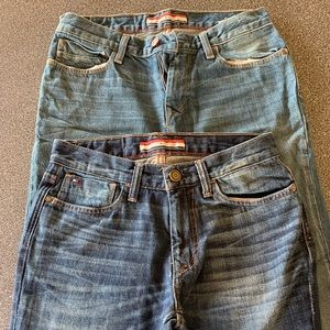 Two pairs men's jeans a Size 28/30